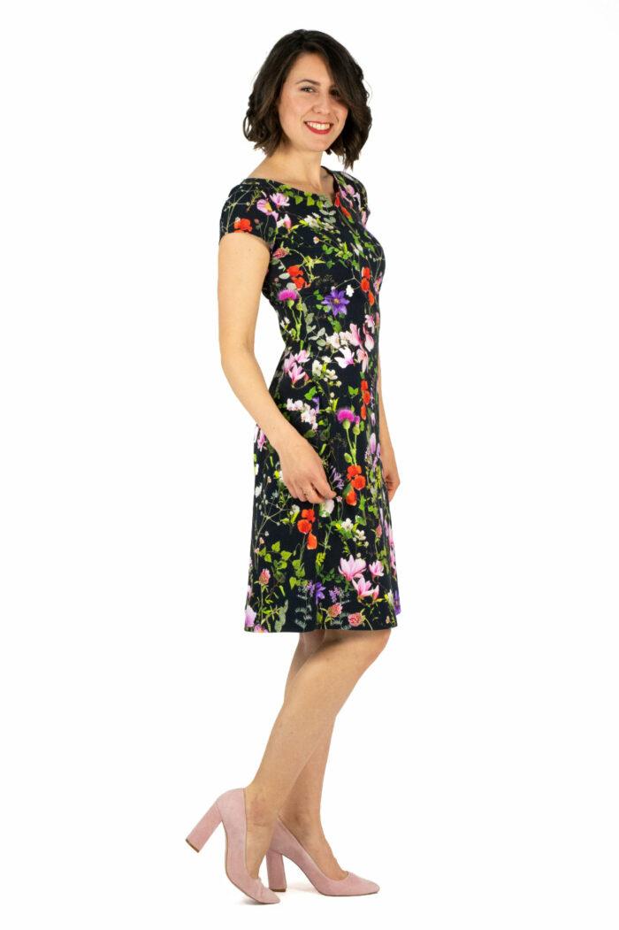 Kleid Audrey mit Blumenmuster