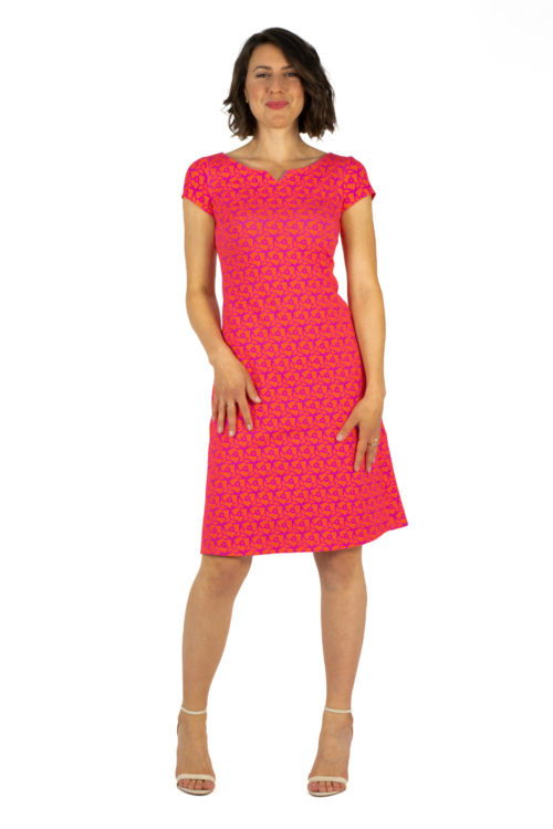 Kleid Audrey Pink Orange