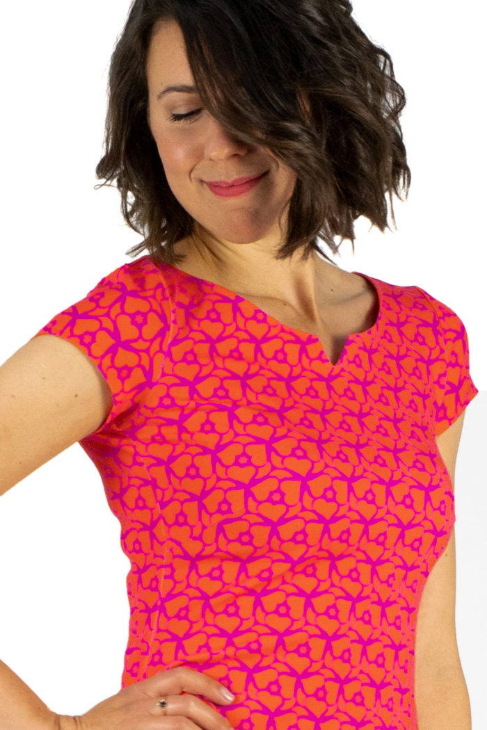 Kleid Audrey Pink Orange