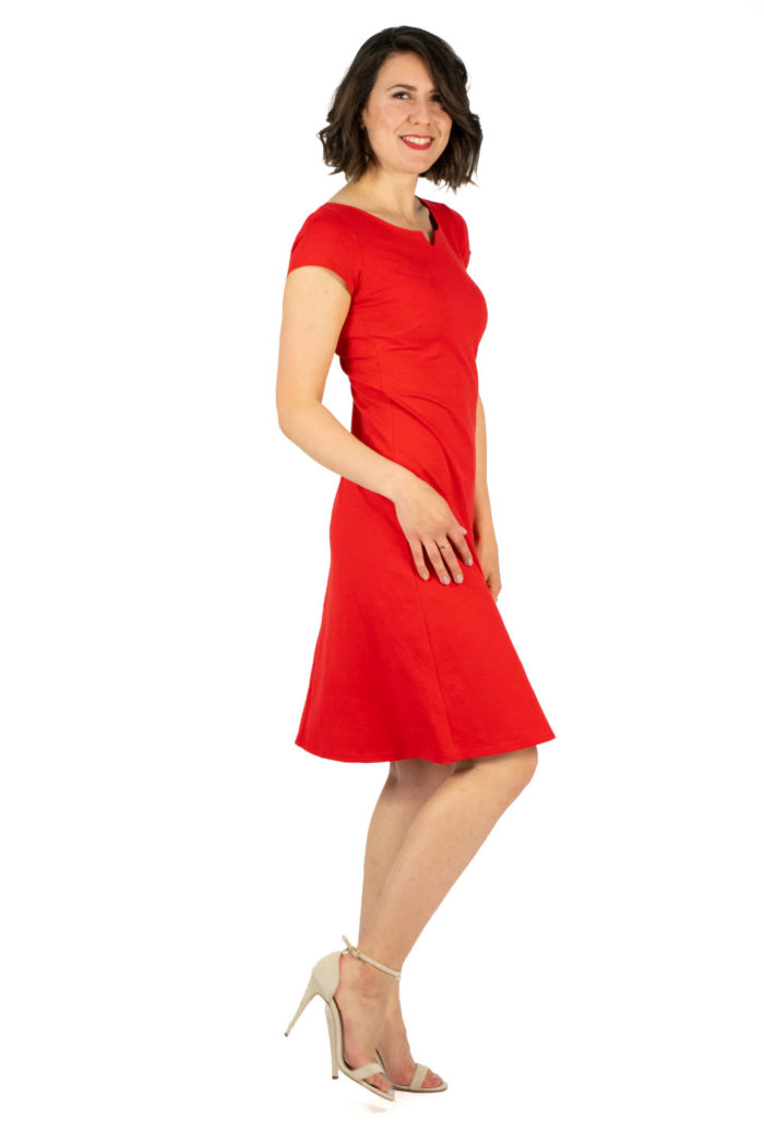 Kleid Audrey rot