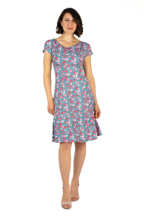 Kleid Larissa Blumenprint