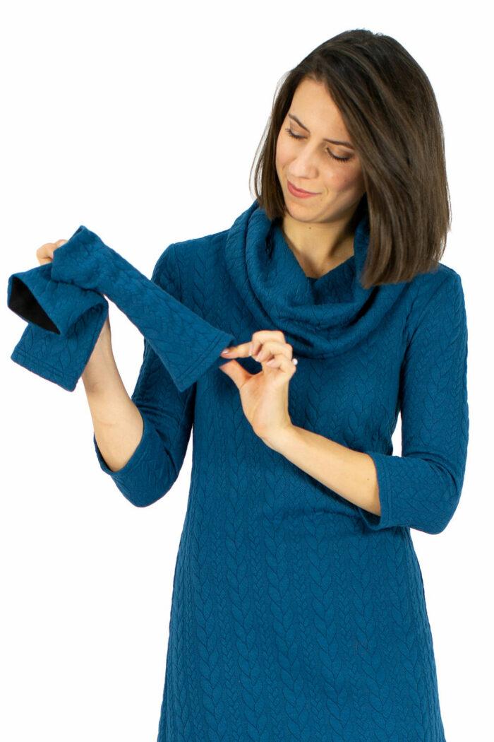 Kleid Lena blau