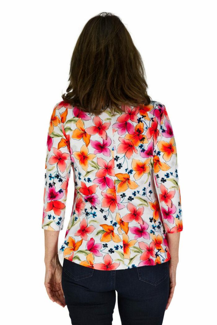 Shirt LIZ mit exklusivem Blütendruck