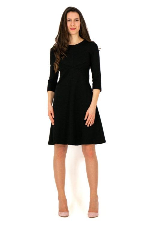 Kleid Marleen in schwarz