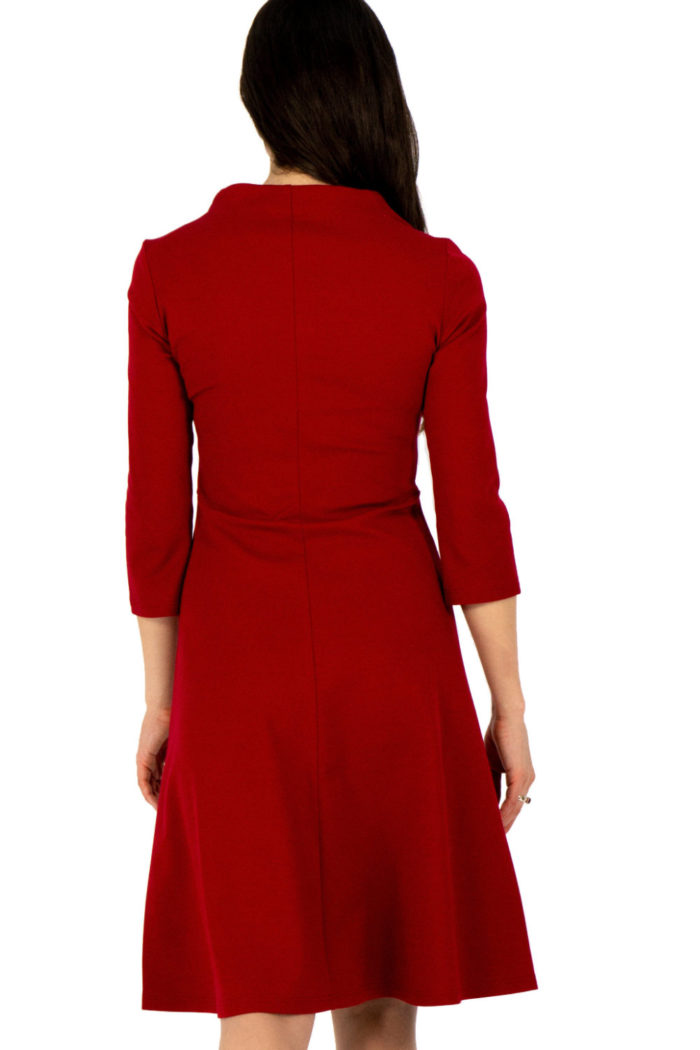 Kleid Marleen in rot