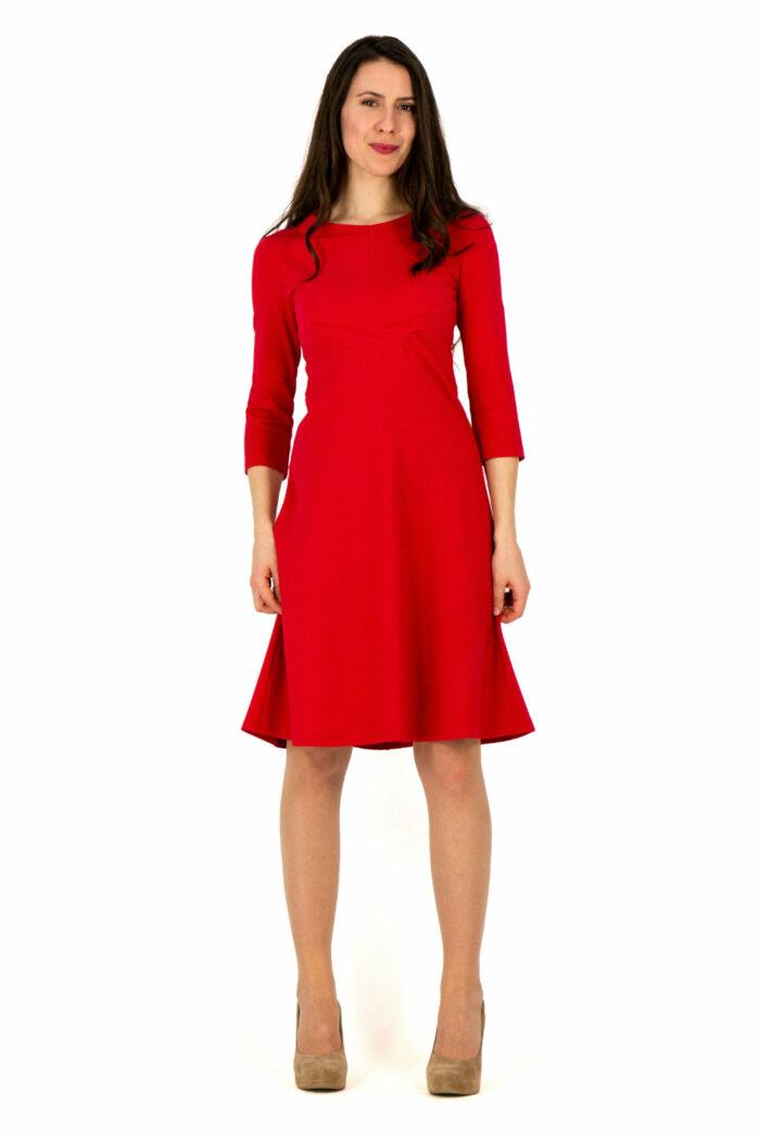 Kleid Marleen in hellrot