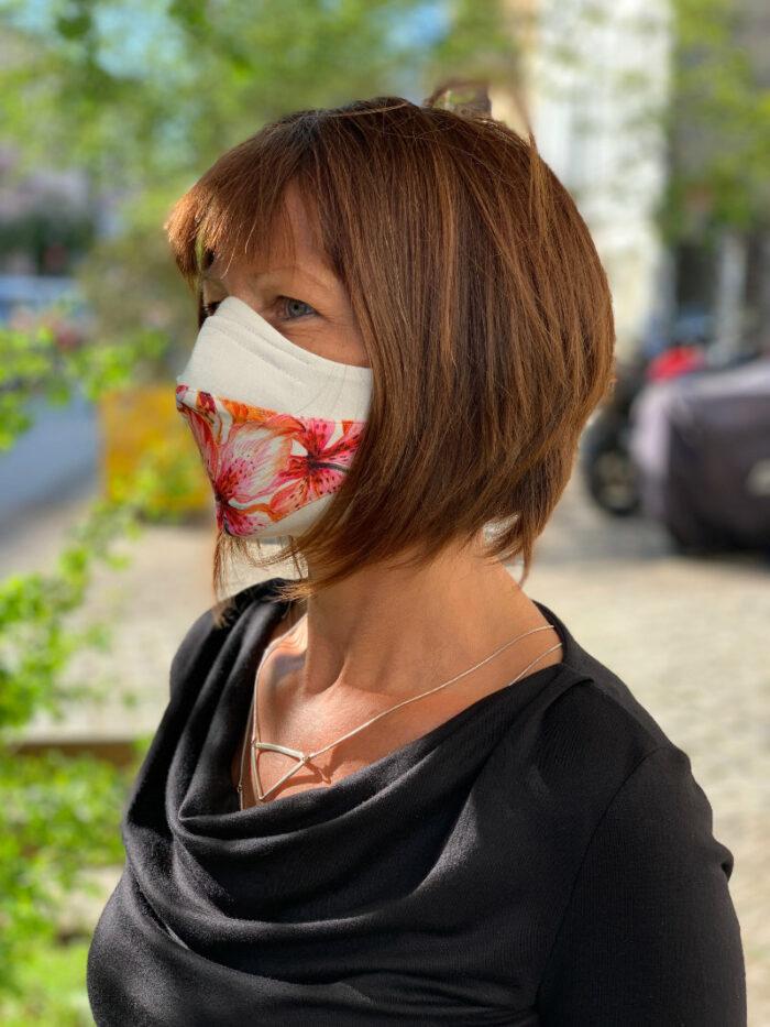 Corona-Maske Design 1 2