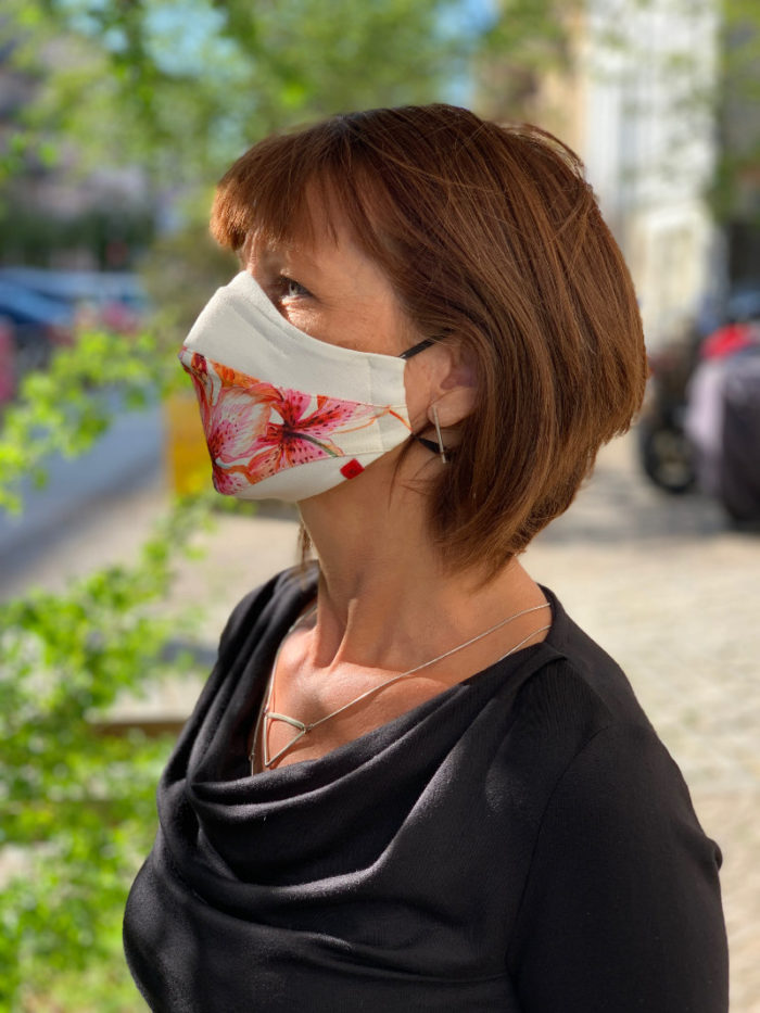 Corona-Maske Design 1 3