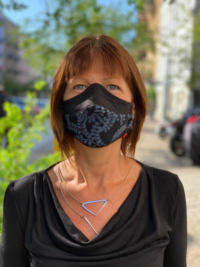 Corona-Maske Design 2 3