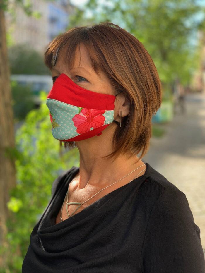 Corona-Maske Design 9 4