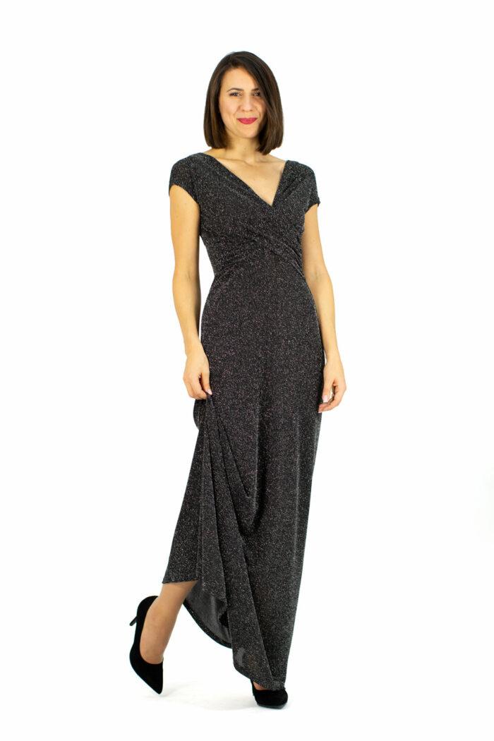 Kleid Melissa silbergrau