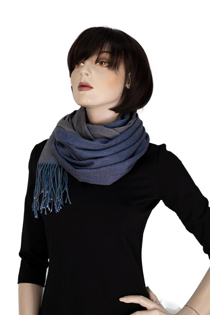 Bicolor-Schal mehrere Varianten 6